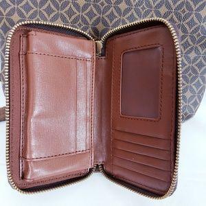 Fossil Bags - Fossil brown sydney crossbody purse & wallet